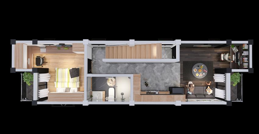 5ta. Planta Interior Design Render