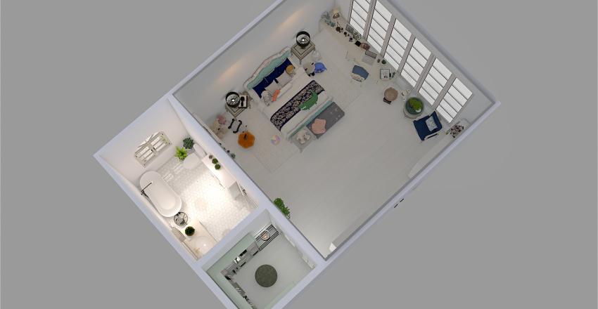 Bedroom for a character Interior Design Render