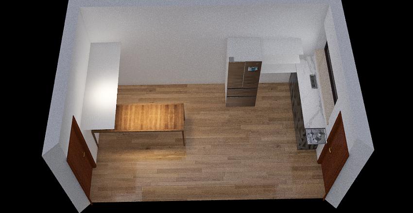 cozinha nova Interior Design Render