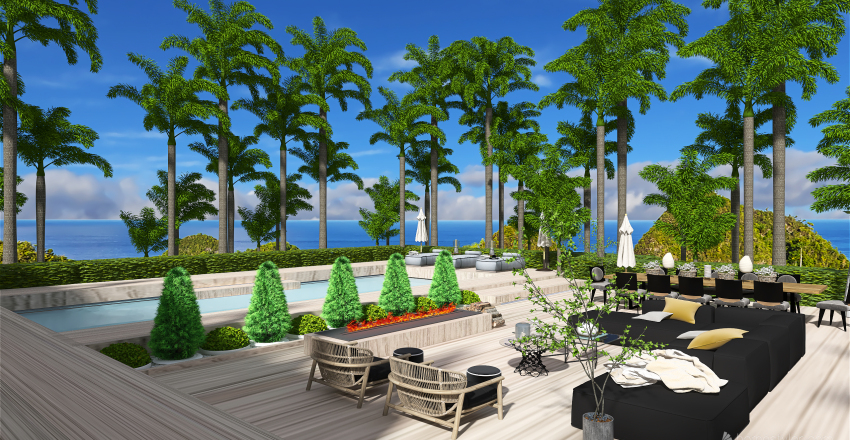 Mile End Estate Interior Design Render