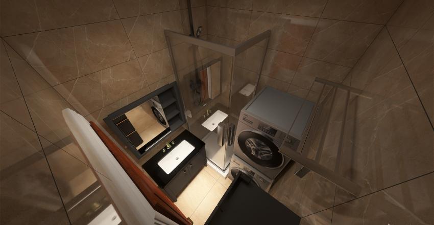 Small bathroom idea Interior Design Render