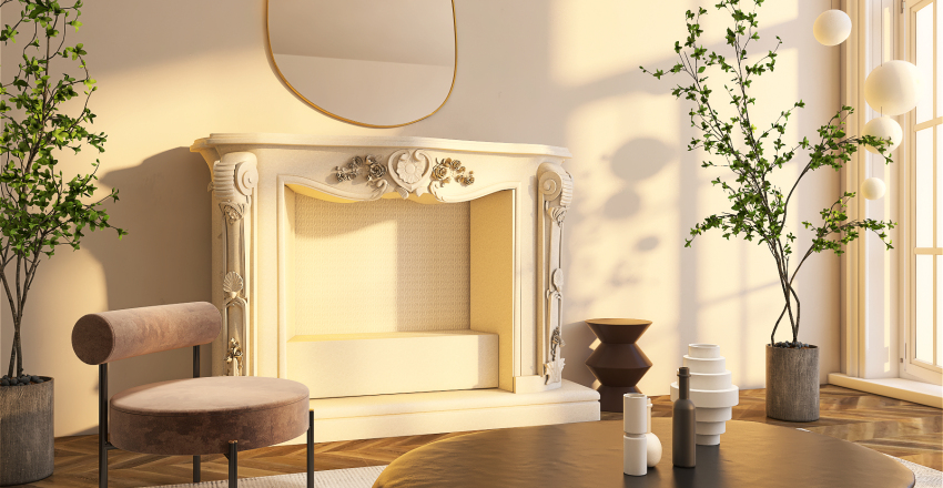 Barcelona - New York City Interior Design Render