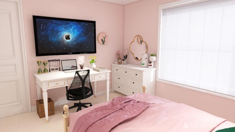 Nadeen's Room Design Interior Design Render