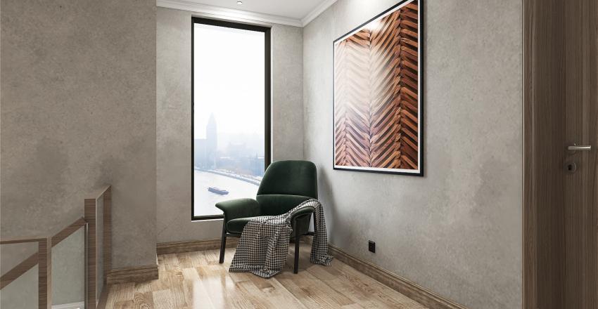 156 Sqm Interior Design Render