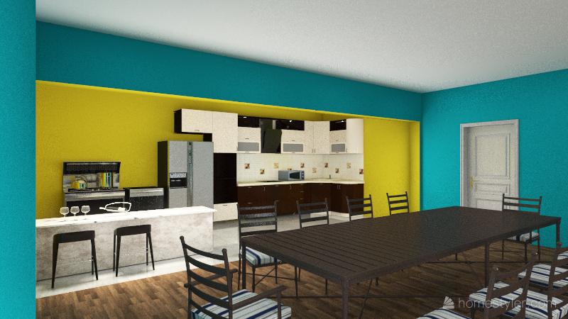 Alex Cowan House Interior Design Render