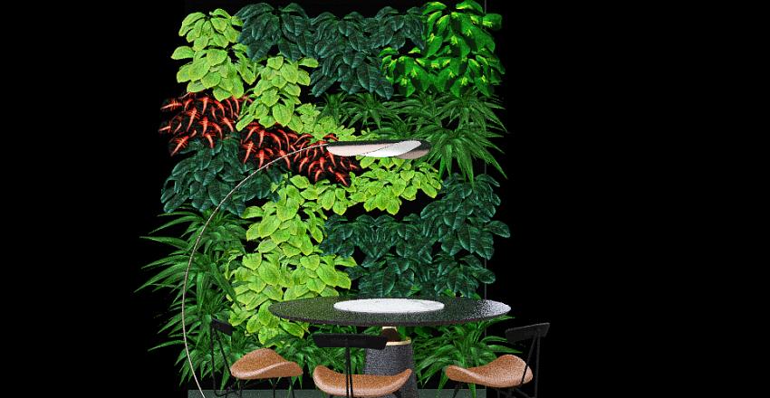 Copy of dinning wall Interior Design Render