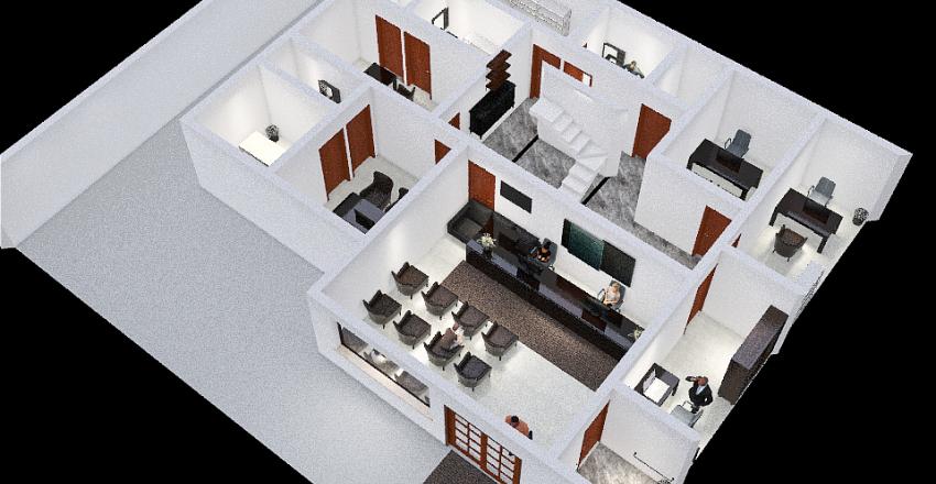 Copy of Arranjo_Físico_Clinica_Popular_P2_Hicaro Interior Design Render