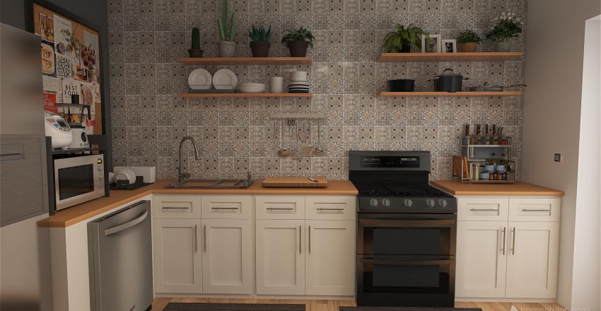 Mason Yang - Dream Kitchen Interior Design Render