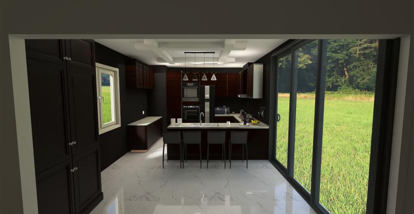 Dream Kitchen Interior Design Render