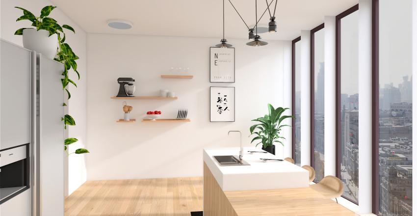 Dream Kitchen - Sydney Chan Interior Design Render