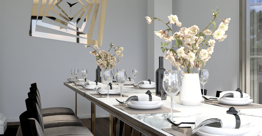 A Taste of Italian Interior Design Render
