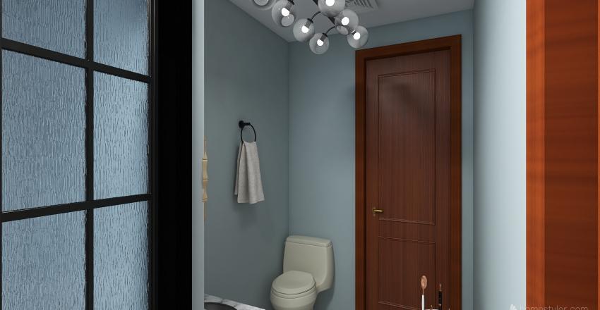 Tovar.E-Bathroom Interior Design Render