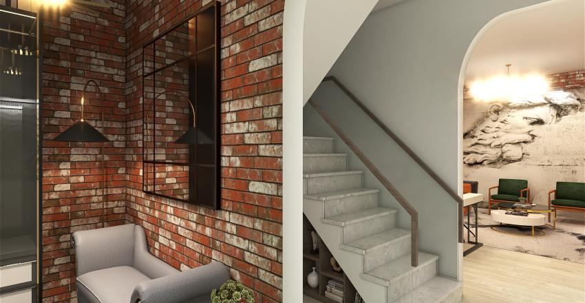 Art deco design Interior Design Render