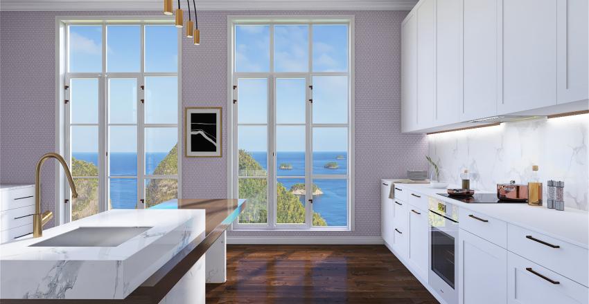 Hamptons Interior Design Render