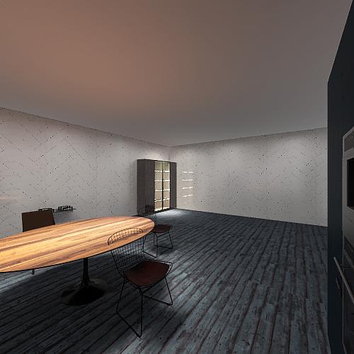 Dream Kitchen (Jihad Goines) Interior Design Render