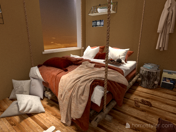 bohemio/moderno Interior Design Render