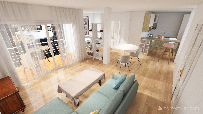 pis_cuina_gran Interior Design Render