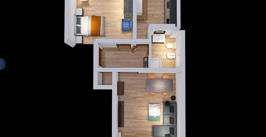Piano C Interior Design Render