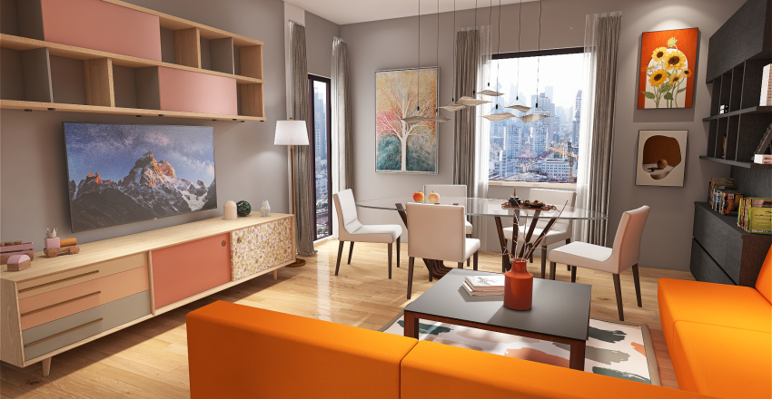 Via Corcioni Aversa Interior Design Render