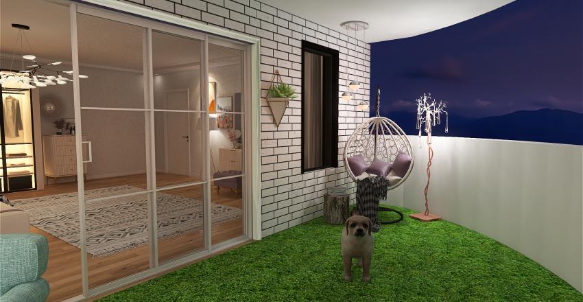 attractive light purple .*-     الليلكي الفاتح الجذاب  Interior Design Render