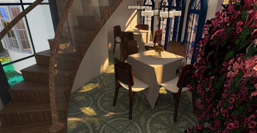 Greece as I dream Interior Design Render