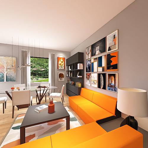 Via Corcioni Aversa RISTRUTTURATO Interior Design Render