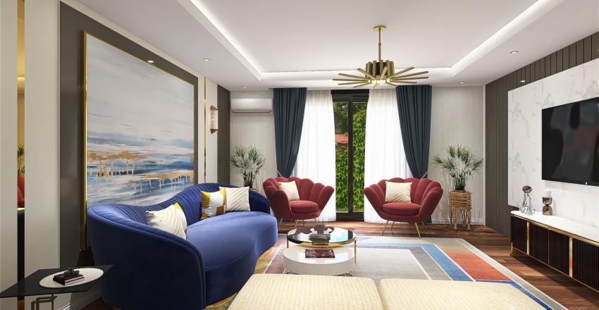 art doc style Interior Design Render