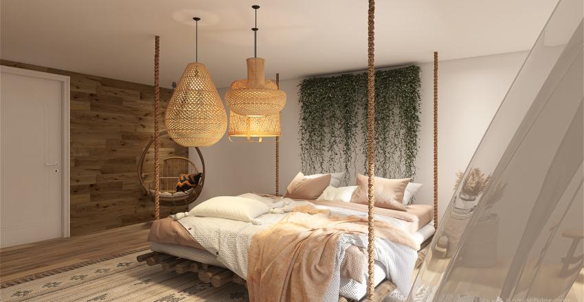 dream attic Interior Design Render