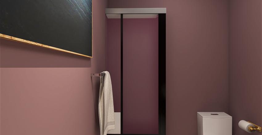 2 Bed/2 Bath Interior Design Render