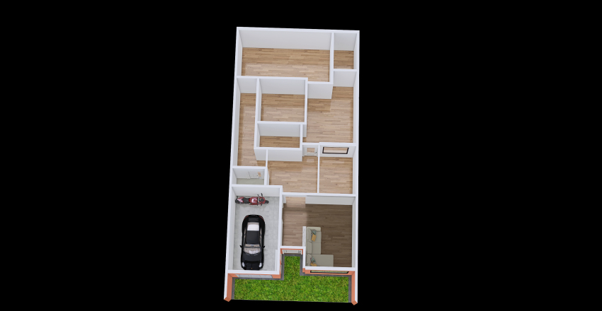 v2 Casa da Margarete (tutora perfeita) Interior Design Render