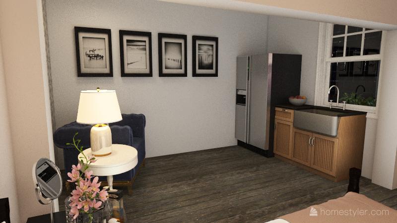 Alley way/ mini homes Interior Design Render