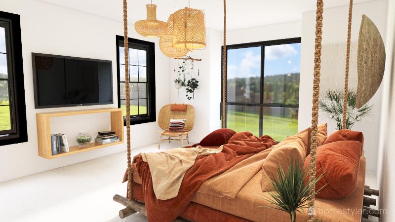 Dream Master Bedroom - Mariah Moeller Interior Design Render