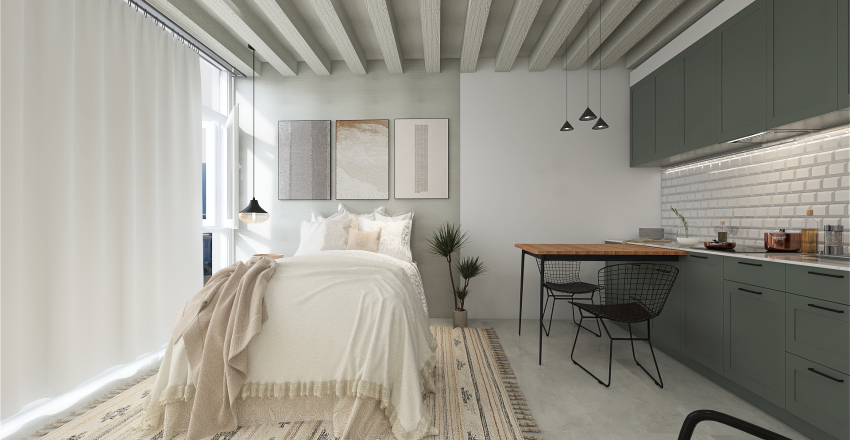 Copan Flat Interior Design Render