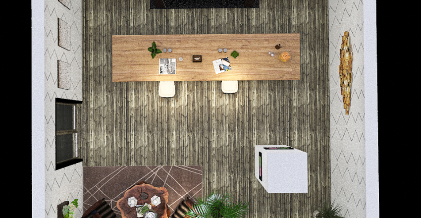 Pop Up Interior Design Render