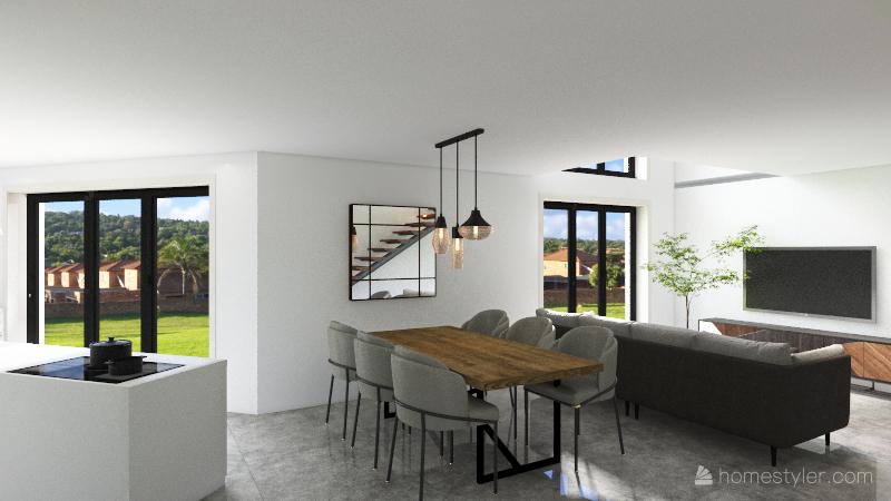 Hélène & Jonathan Interior Design Render