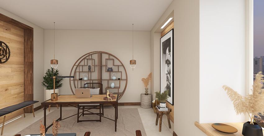 Ured 1F6 Interior Design Render