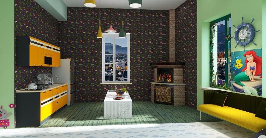 Raluca - Copy of proiect parter romulus Interior Design Render