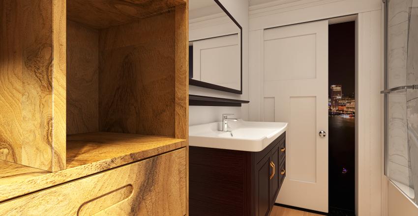 bathroom new door Interior Design Render