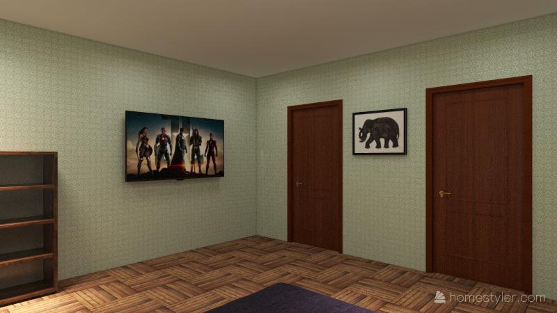 deluxe bed room tyler brady Interior Design Render