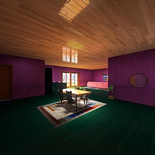 Deluxe Apartment Interior Design Render