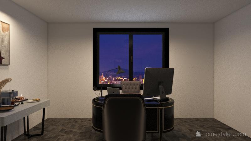 Bussiness Room Interior Design Render