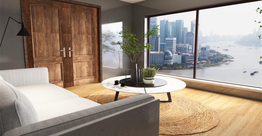 Sunroom Interior Design Render