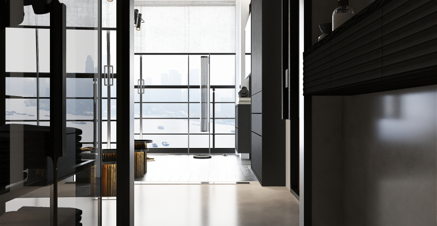 [ EAST RIVER VIEW - NYC ] Interior Design Render