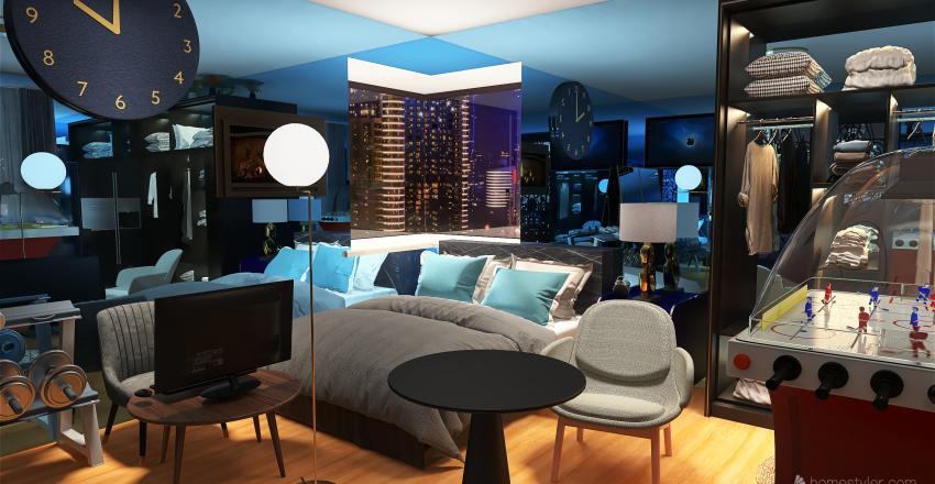 16x16 DREAM ROOM Interior Design Render