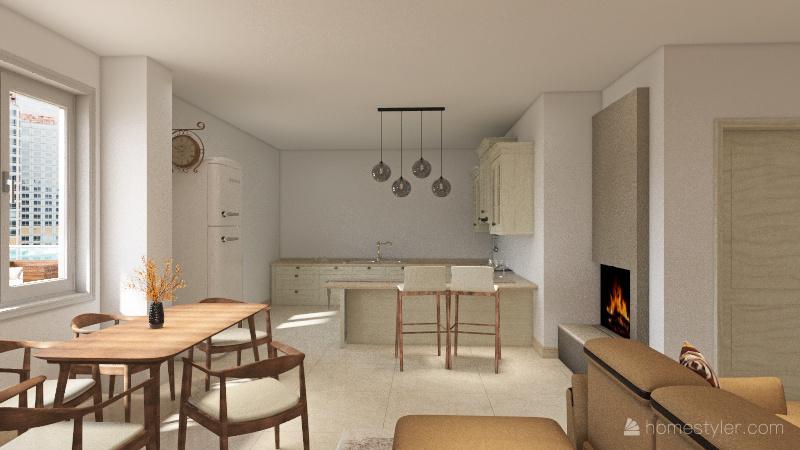 Copy of Primo progetto di Erika Interior Design Render