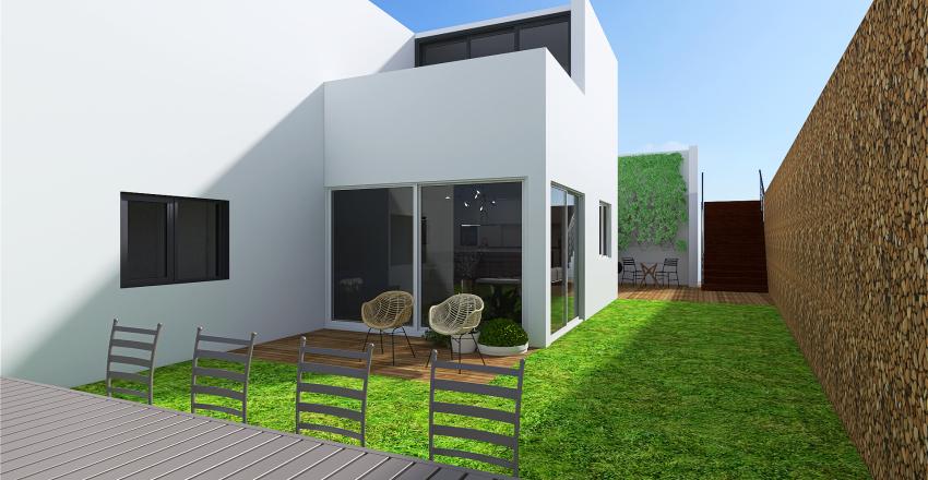 barkan L designer Interior Design Render