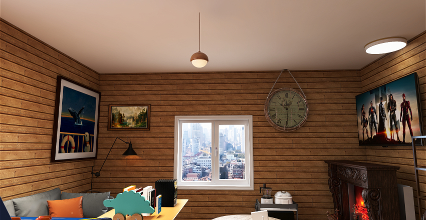 Welcome to MY HOUSE Interior Design Render