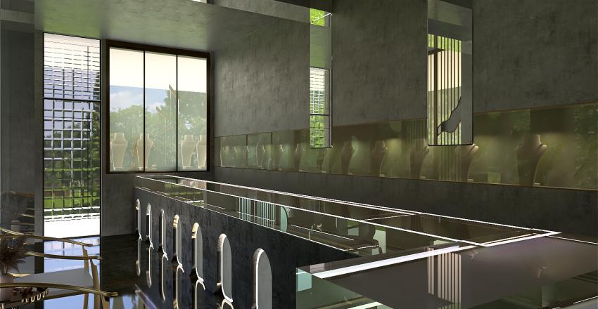 jewellery store Interior Design Render