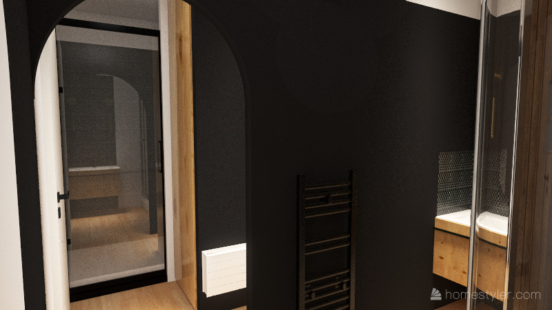 Combiné dressing / SPA Interior Design Render