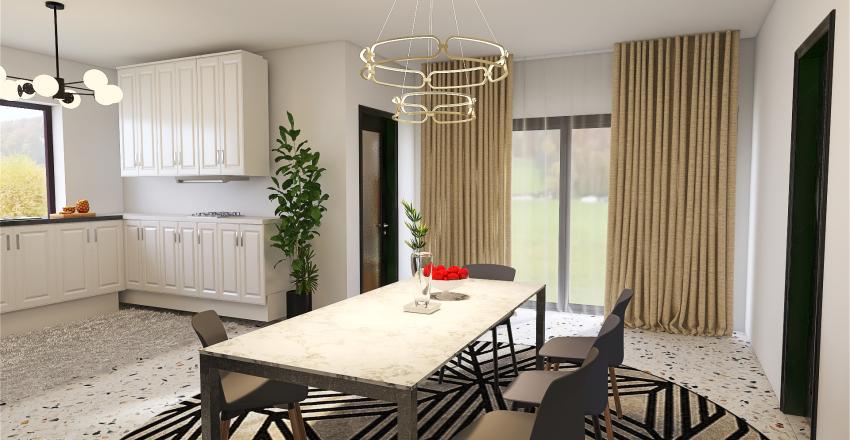 New_10x15m house plan Interior Design Render